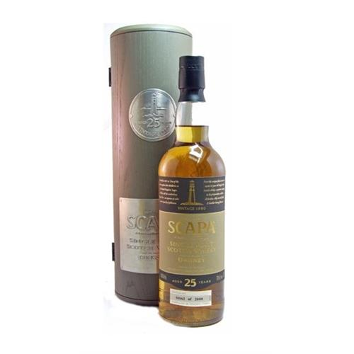 Scapa 25 years old 1980 54% 70cl Image 1