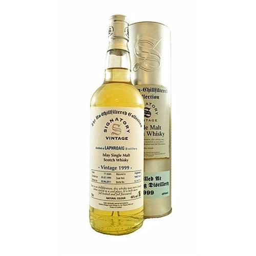 Laphroaig 11 years old 1999 Signatory UCF 46% 70cl Image 1