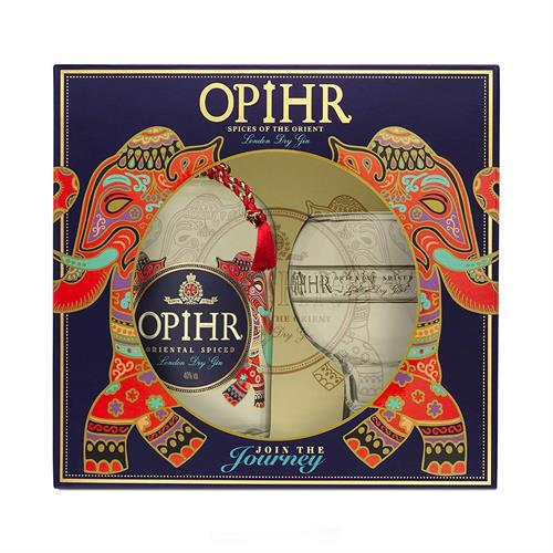 Opihr Oriental Spiced Gin Glass Pack 70cl Image 1