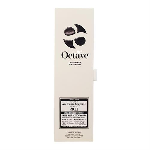 An Iconic Speyside 2011 The Octave 10 Year Old 53.7% 70cl Image 1