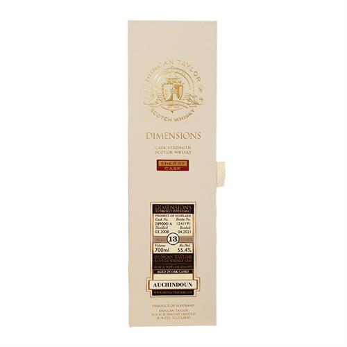 Auchindoun 12 Year Old 2008 Cask #28900016 Dimensions 55.4% 70cl Image 1