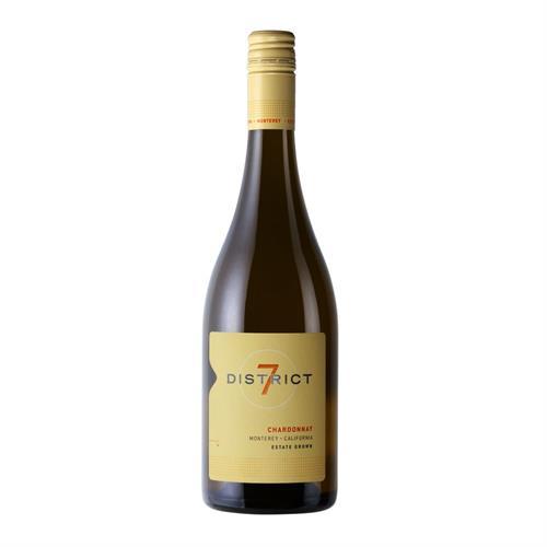District 7 Chardonnay 2019 75cl Image 1