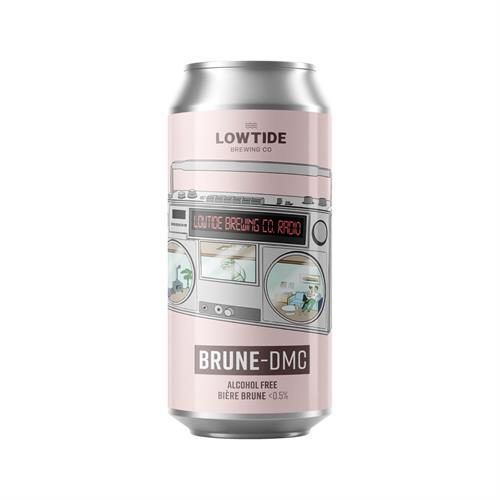 Lowtide Brewing Co Brune-DMC Biere Brune Alcohol Free 440ml Image 1