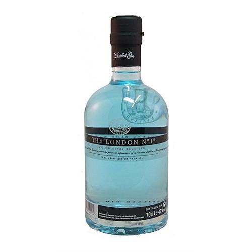 The London Gin No.1 Original Blue Gin 47% 70cl Image 1