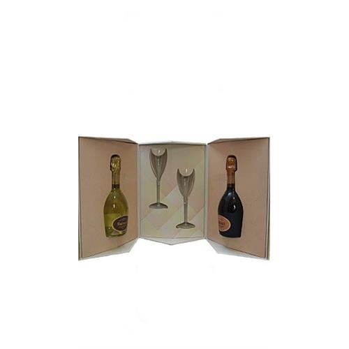 Ruinart 'My sweeter half' Champagne Gift Pack 12% 2x37.5cl Image 1