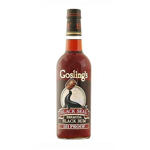 Goslings 151 Rum 75.5% 70cl Image 1
