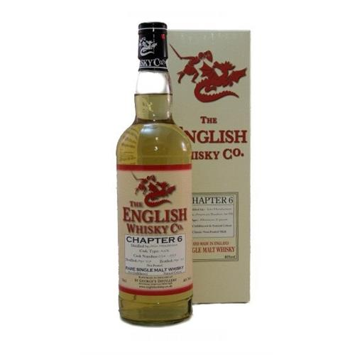 The English Whisky Co. Chapter 6 46% 70cl Image 1