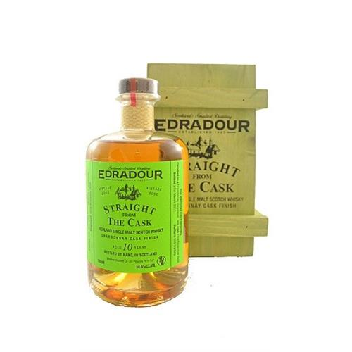 Edradour Chardonnay Cask 10 years old Straight From The Barrel 56.3% 50cl Image 1