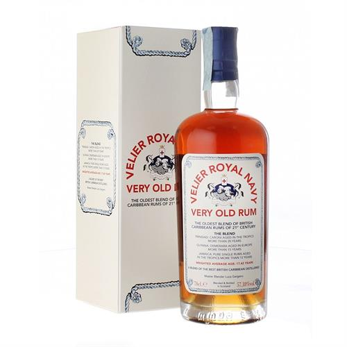 Velier Royal Navy Very Old Rum 57.18% 70cl Image 1