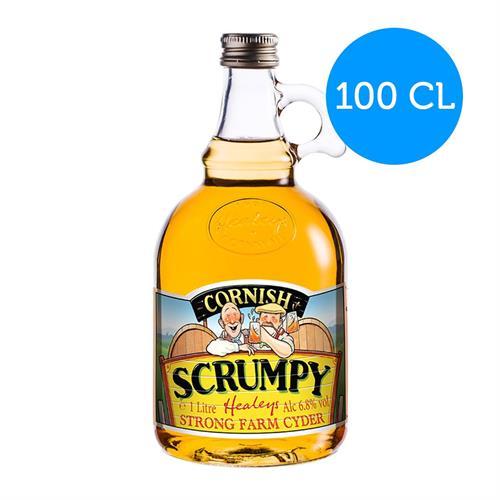 Healeys Traditional Cornish Scrumpy Cyder 6.8% 1L Image 1