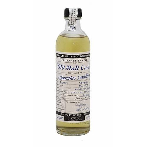Glenrothes 1998 11 years old Old Malt Cask 20cl Image 1