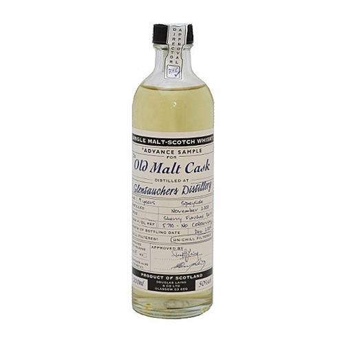 Glentauchers 9 years old 2000 Old Malt Cask 20cl Image 1