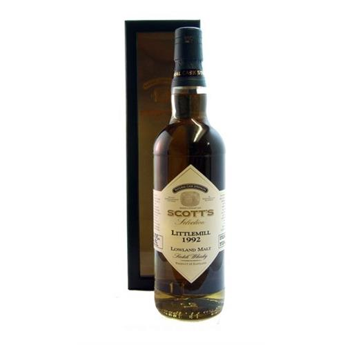 Littlemill 1992 Scotts Selection 57.8% 70cl Image 1