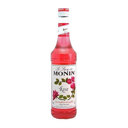 Monin Rose Sirop 70cl Image 1