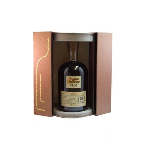English Harbour 1981 Rum 40% 75cl Image 1