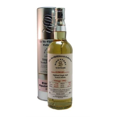 Clynelish 1992 Unchillfiltered 46% 70cl Image 1