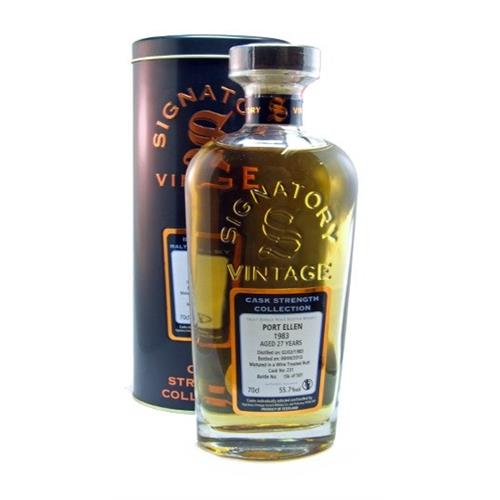 Port Ellen 1983 27 years old Signatory 55.7% 70cl Image 1