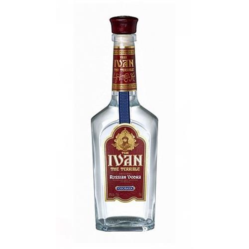 Ivan the Terrible Vodka 40% 70cl Image 1