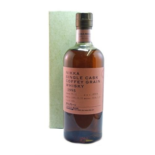 Nikka Single Cask Coffey Grain 1995 60% 70cl Image 1