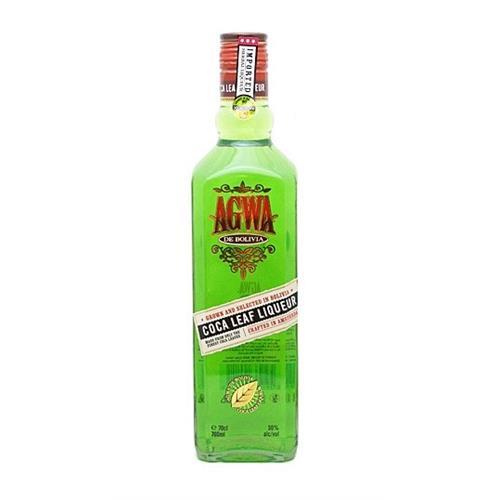 Agwa de Bolivia Coca leaf Liqueur 30% 70cl Image 1