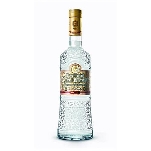 Russian Standard Gold Vodka 40% 70cl Image 1