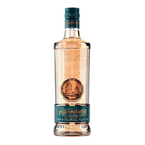 Puerto De Indias Guadalquivir Peach Elderflower & Orange Gin 70cl Image 1