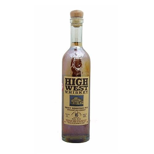 High West 16 years old Whiskey Rocky Mountain Rye 46% 75cl Image 1