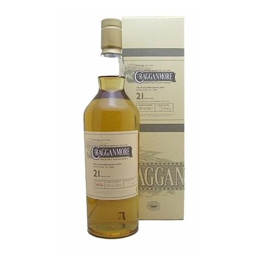 Cragganmore 21 years old 56% vol Limited Edition 70cl Image 1