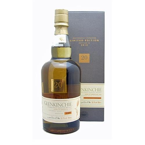 Glenkinchie 20 years old 55.1% vol Limited Edition 2010 70cl Image 1