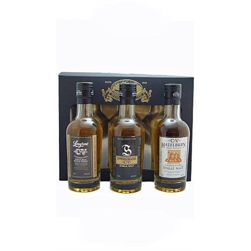 Campbeltown Malts Gift Set (CV set) 46% 3x20cl Image 1
