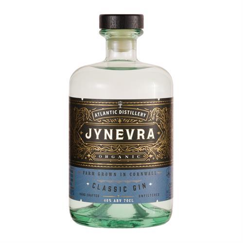 Atlantic Distillery Jynevra Cornish Organic Gin 40% 70cl Image 1