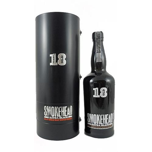 Smokehead 18 years old Extra Black 43% 70cl Image 1