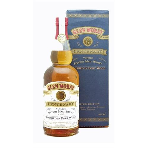 Glen Moray Centenary Vintage 40% 70cl Image 1
