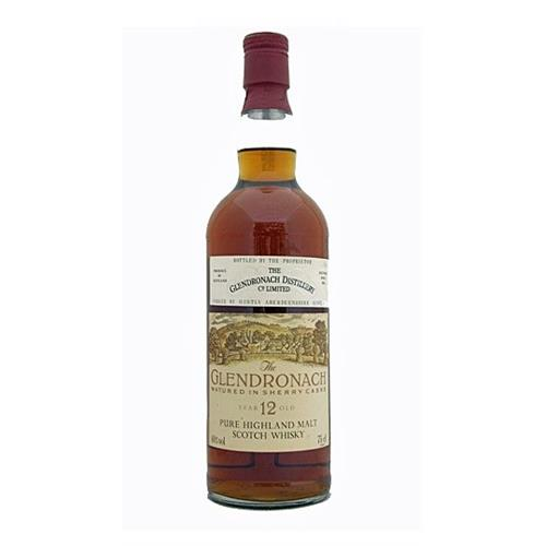 Glendronach 12 years old 40% 75cl Image 1