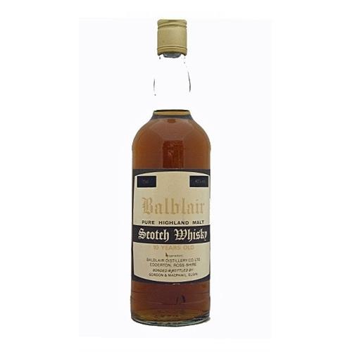 Balblair 10 years old 40% 75cl Image 1