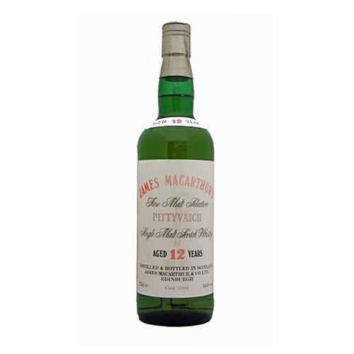 Pittyvaich 12 years old 53.5% vol James Macarthur 75cl Image 1