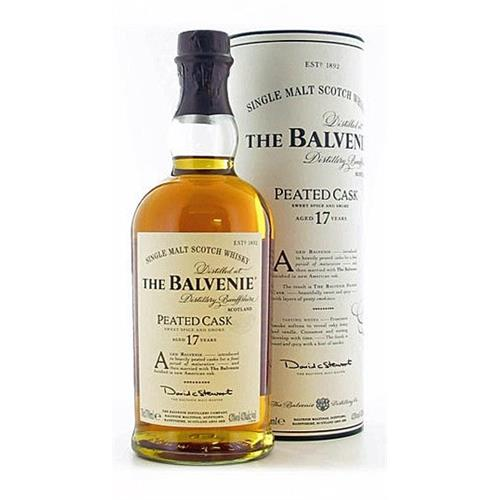 Balvenie Peated Cask 17 years old 43% 70cl Image 1