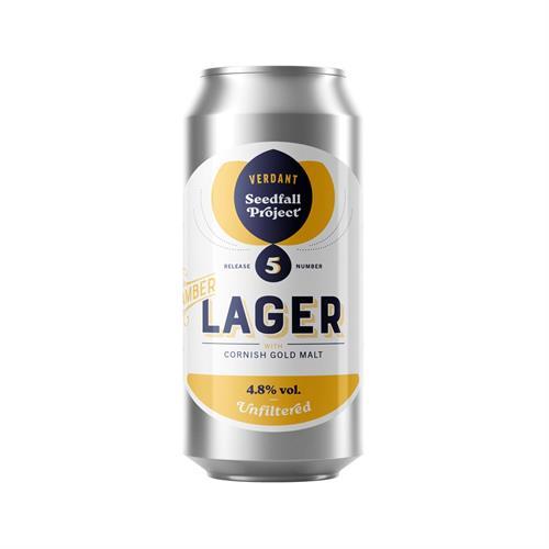 Verdant Seedfall Amber Lager 4.8% 440ml Image 1
