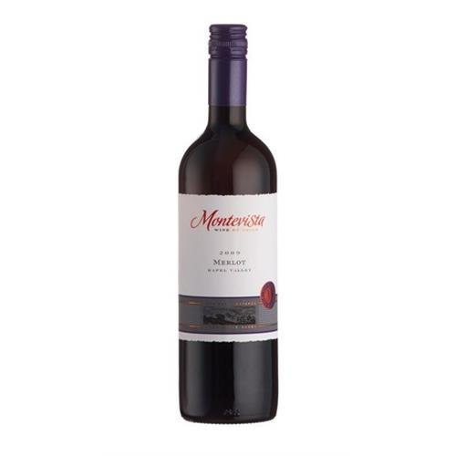 Montevista Merlot 2018 75cl Image 1