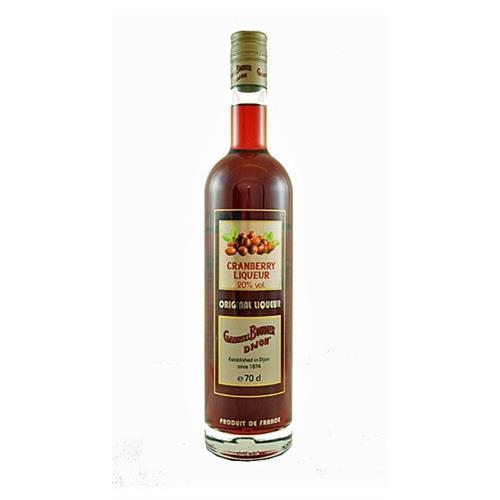 Gabriel Boudier Cranberry Liqueur Bartender Range 20% 70cl Image 1