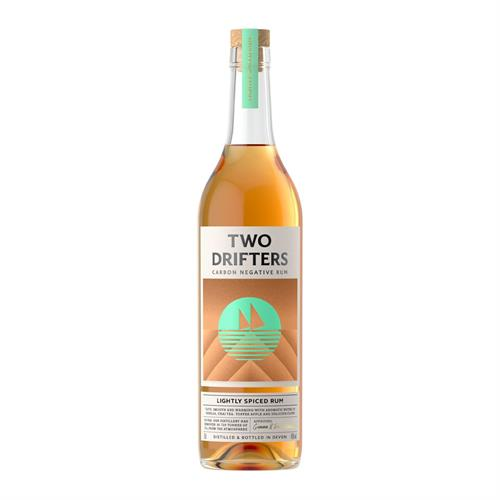 Two Drifters Lightly Spiced Rum 70cl Image 1