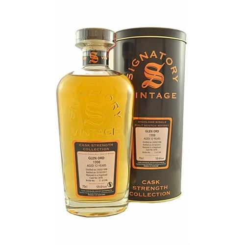 Glen Ord 1998 12 years old Signatory 59.6% 70cl Image 1