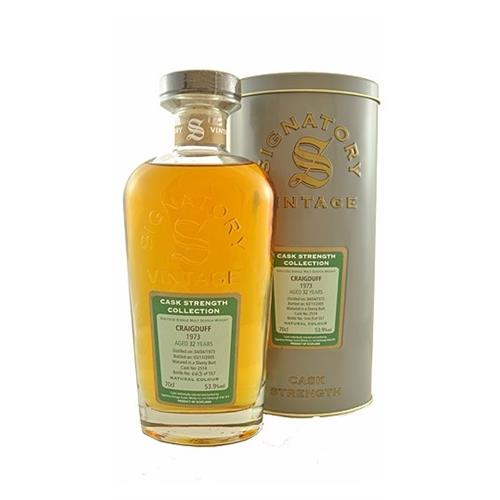 Craigduff 1973 32 years old Signatory Cask Collection 53.9% 70cl Image 1