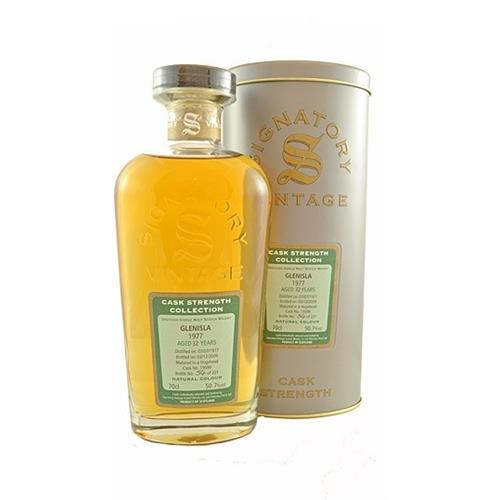 Glenisla 1977 32 years old Signatory Cask Strength Collection 50.7% 70cl Image 1