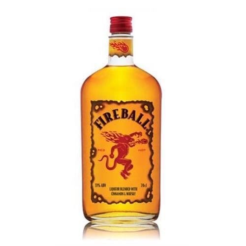 Fireball Cinnamon Whisky Liqueur 33% 70cl Image 1