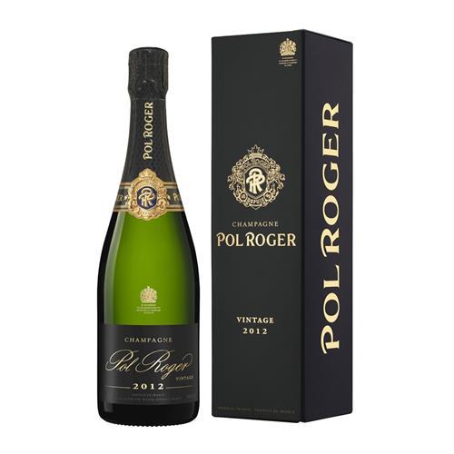 Pol Roger 2012 Vintage Champagne 75cl Image 1