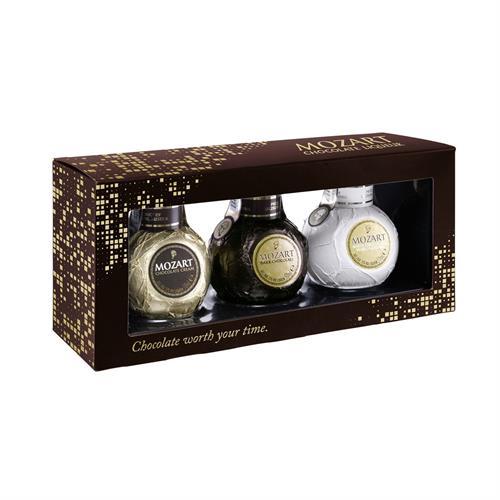 Mozart Chocolate Liqueurs Triple Pack 3 x 5cl Image 1