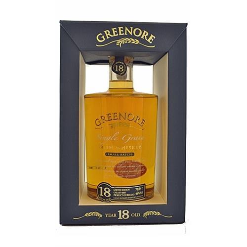 Greenore Single Grain 18 years old Irish Whiskey 46% 70cl Image 1