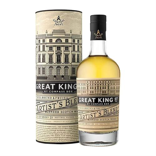 Compass Box Great King Street Artist Blended Whisky 50cl Image 1