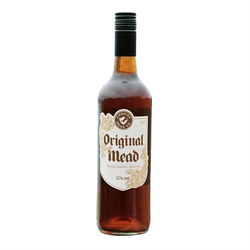Cornish Mead Company Original Mead Traditional Recipe 75cl Image 1